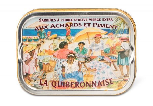 Jahrgangssardinen La Quiberonnaise