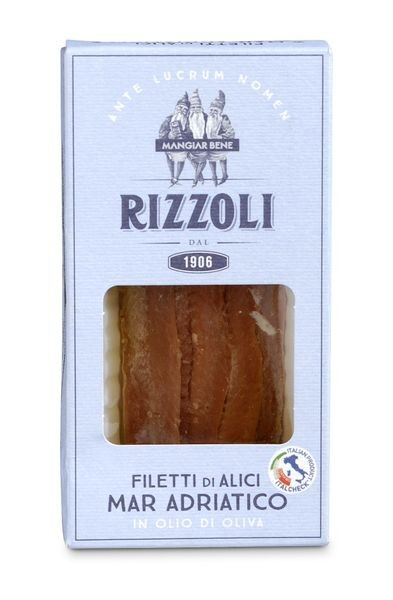 Filetti di Alici Mar Adriatico in olio di oliva