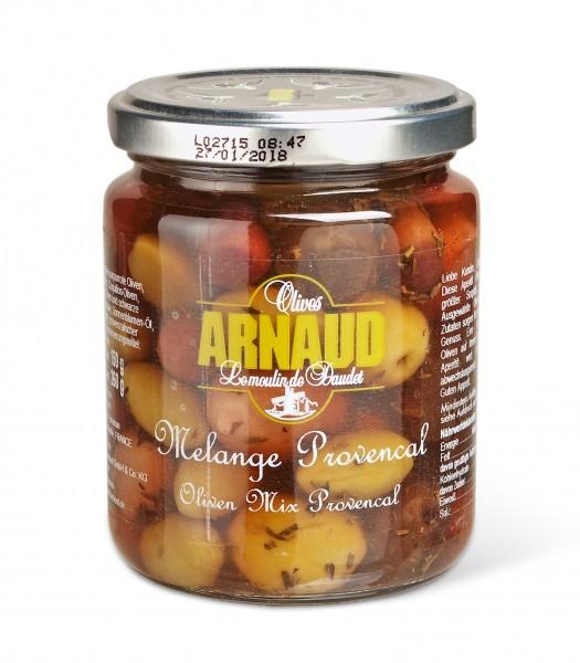 Melange provenzalischer Oliven