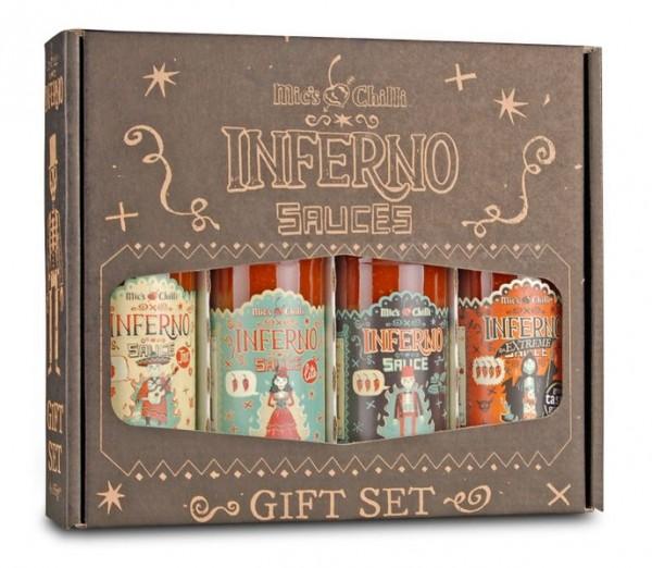 Inferno Sauces Collection Geschenkset