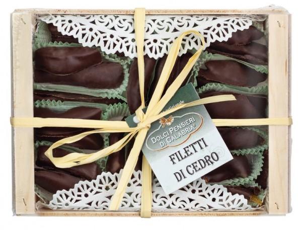 Filetti di Cedro con cioccolato extra fondente
