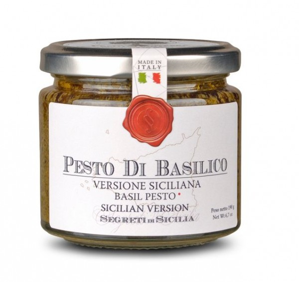 Pesto di Basilico Siciliano