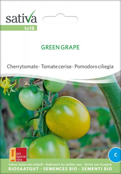 Stabtomate 'Green Grape' Saatgut