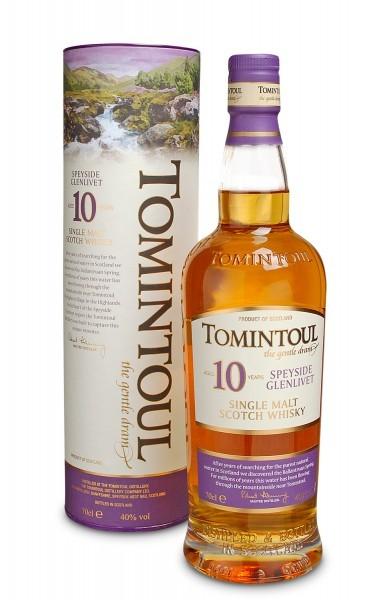Tomintoul 10 YO Single Malt Whisky