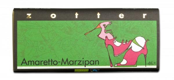 Zotter Schokolade Amaretto Marzipan