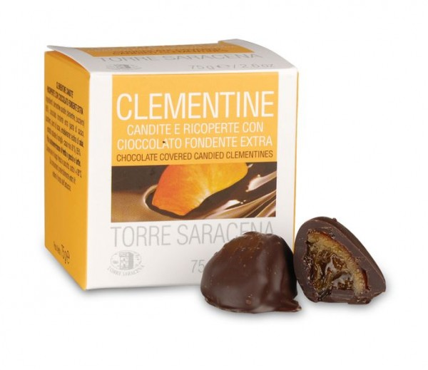 Kandierte Clementinen in Edelbitterschokolade