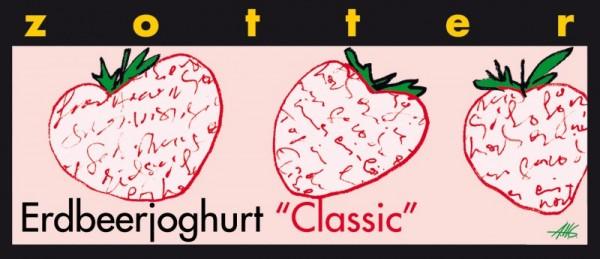 Zotter Handgeschöpfte Schokolade Erdbeer-Joghurt