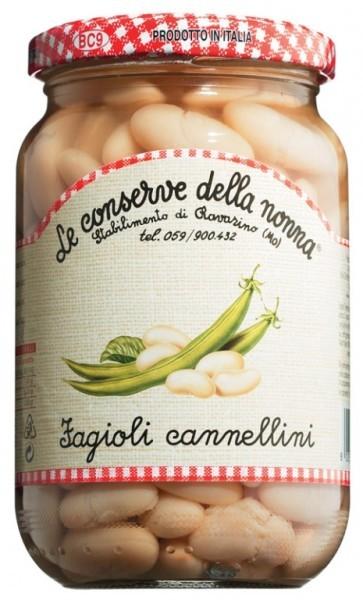 Cannellini-Bohnen, in Salzlake