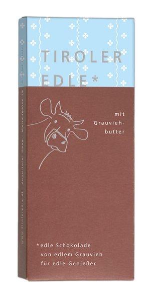 Tiroler Edle gefüllt - mit Grauviehbutter