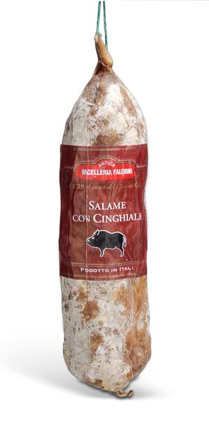 Salame di Cinghiale - Wildschweinsalami