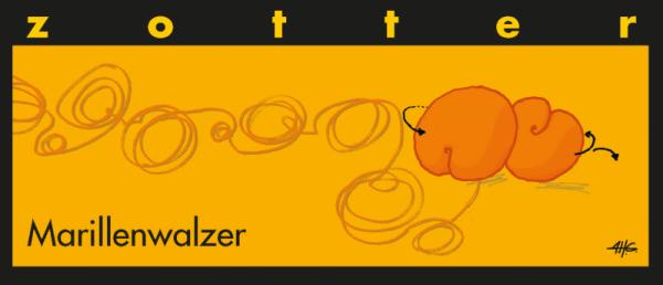 Marillenwalzer - Handgeschöpfte Schokolade [Bio]