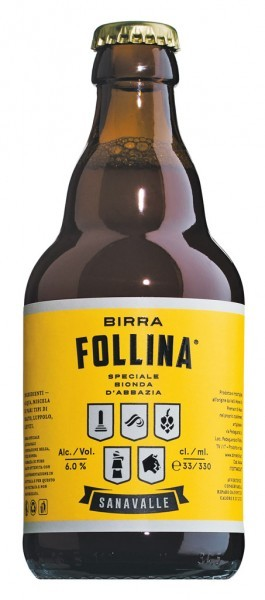 Birra Follina 'Sanavalle' - Craft Beer
