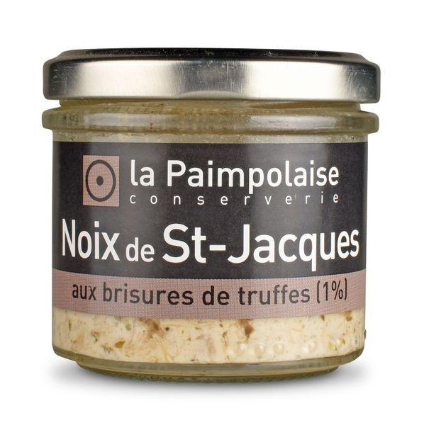 Noix de St-Jacques aux brisures de truffes