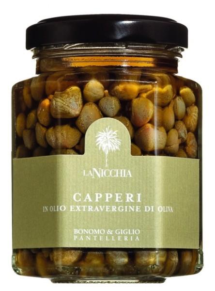 Pantelleria Kapern in Olivenöl