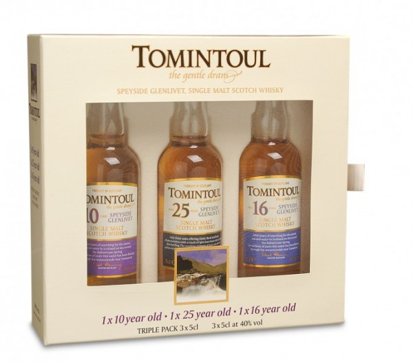 Tomintoul 'The gentle Dream' Whisky Tasting-Set