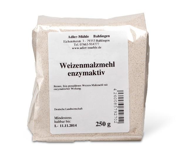 Gerstenmalzmehl enzymaktiv