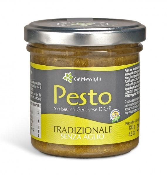 Pesto mit Genoveser Basilikum