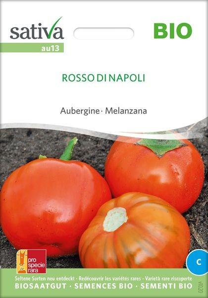 Aubergine 'Rosso di Napoli' - Saatgut