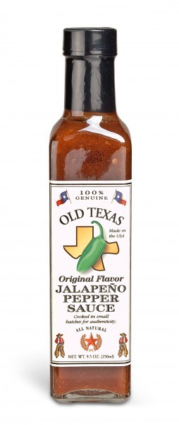 Old Texas Jalapeno Pepper BBQ Sauce