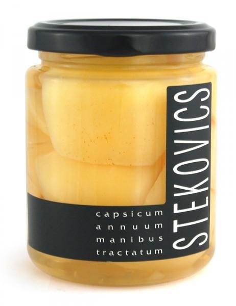 Stekovics Apfelpaprika in Welschrieslingessig