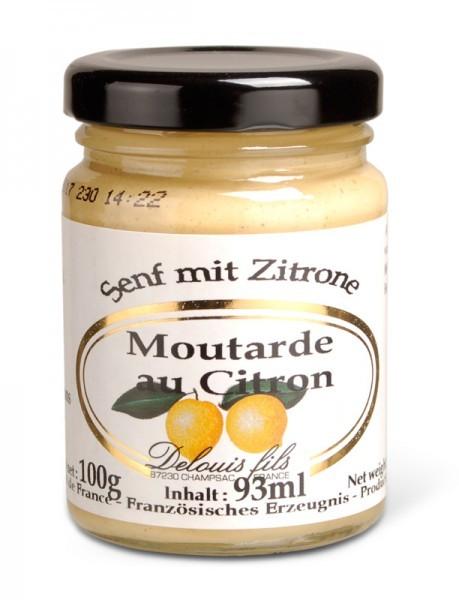 Senf mit Zitrone