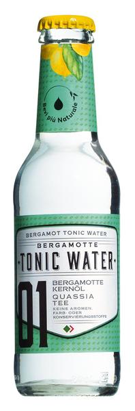 Tonicwasser mit Bergamotte