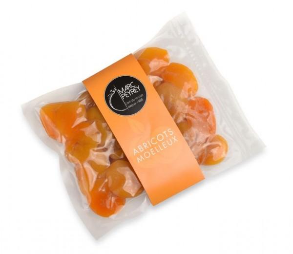 Abricots moelleux - saftige, halb-getrocknete Aprikosen