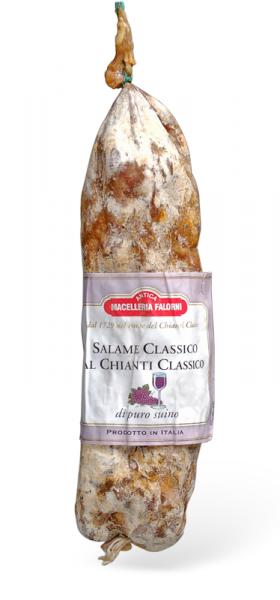 Salame Classico al Chianti Classico
