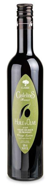 """Olivenöl Castelas """"Fruité vert"""" - Vallee des Baux de Provence AOP"""