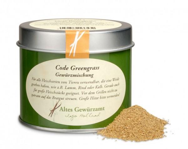 Altes Gewürzamt Code Greengras