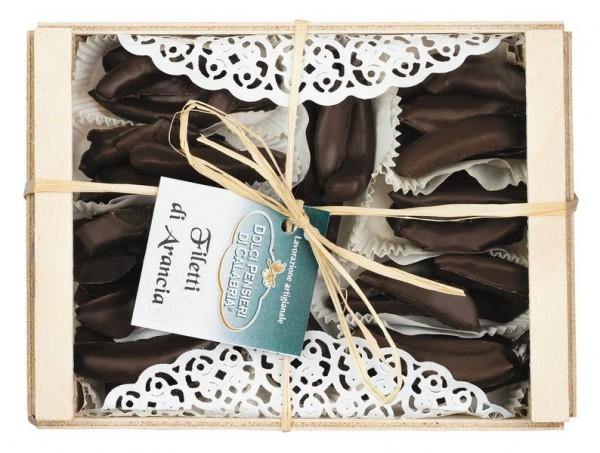 Filetti di Arancia con cioccolato extra fondente
