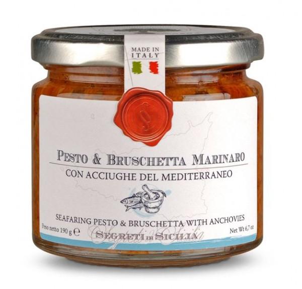 Pesto & Bruschetta Marinaro