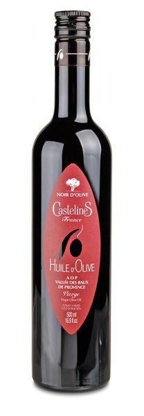 """Olivenöl Castelas """"Noir d'olive"""" - Vallée des Baux de Provence AOP"""