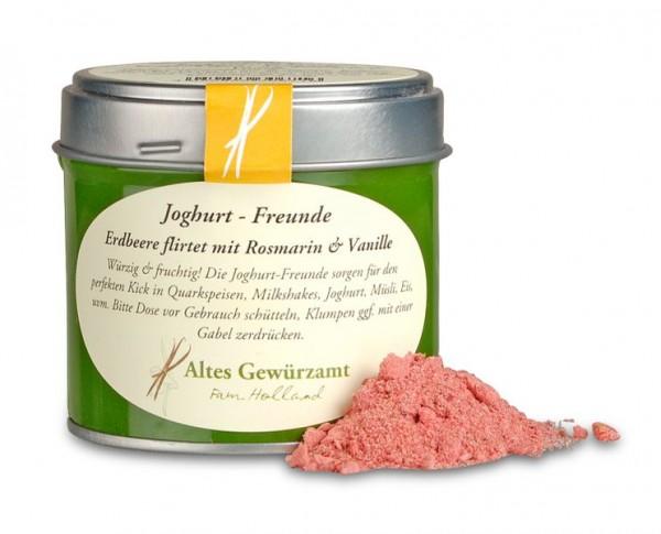 Altes Gewürzamt Joghurt Freunde Erdbeer