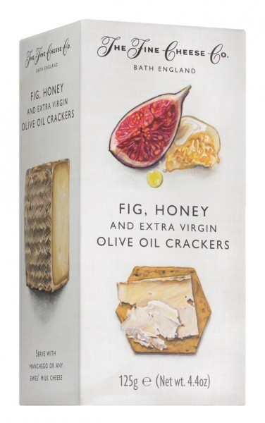 Fig, Honey & Extra Virgin Olive Oil Crackers