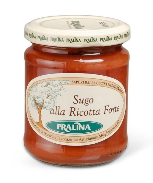 Sugo alla Ricotta Forte - Tomatensauce mit Ricotta Forte
