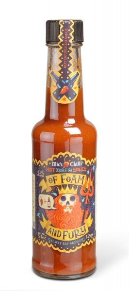 Hot Double IPA Sauce 'Of Foam and Fury'