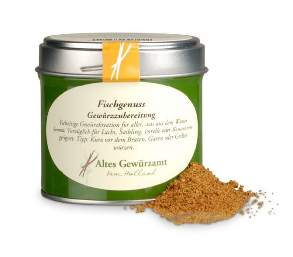 Altes Gewürzamt - Fischgenuss Sea of Spices Gewürz