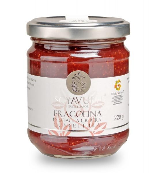Wilderdbeerkonfitüre Slow Food Presidio Fragolina di Sciacca e Ribera