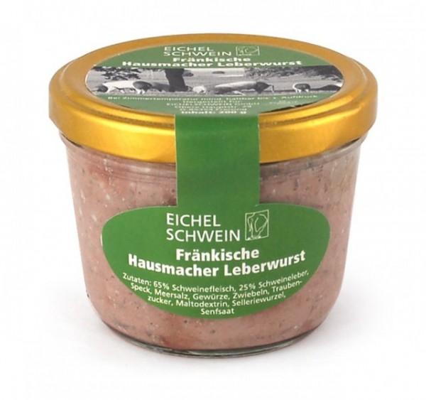 Fränkische DelikatessLeberwurst vom Eichelschwein
