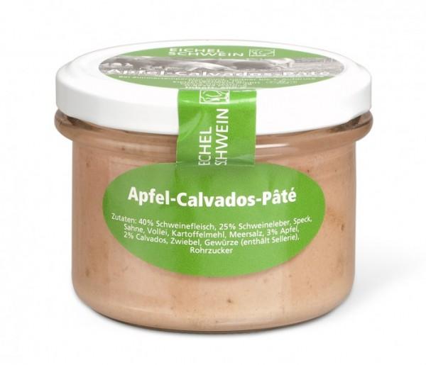 Apfel-Calvados-Paté vom Eichelschwein