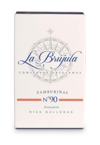Zamburinas in feiner Sauce nach Galizischer Art