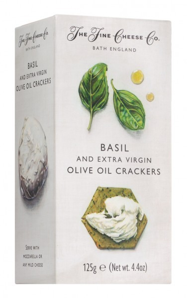 Basil & Extra Virgin Olive Oil Crackers