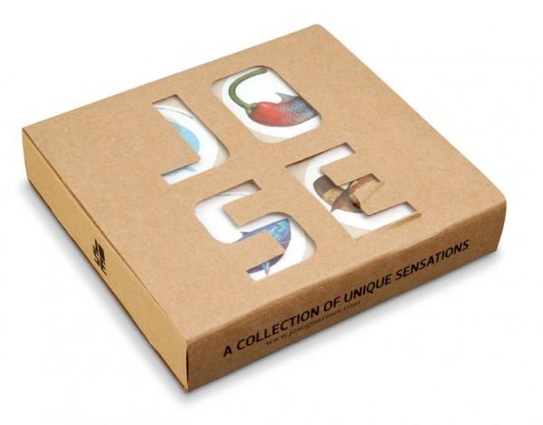 Jose Gourmet Fisch-Patés 4-er Geschenkset
