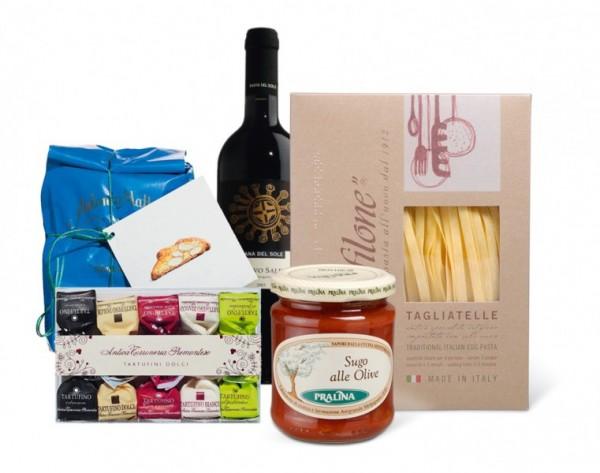 Geschenkset 'Italienischer Abend'