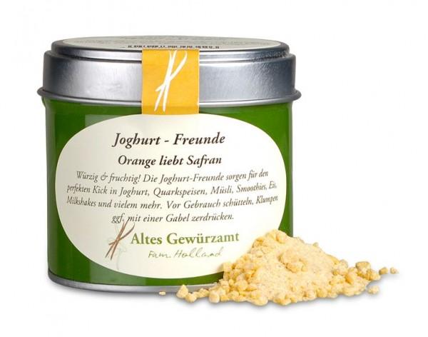 Altes Gewürzamt Gewürzmischung Joghurt Freunde Orange mit Safran