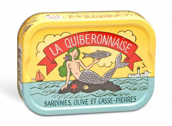 La Quiberonnaise Jahrgangssardinen mit Meerfenchel