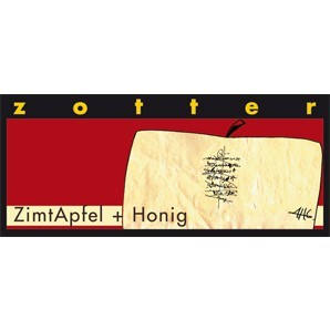 ZimtApfel + Honig - Handgeschöpfte Schokolade [Bio]