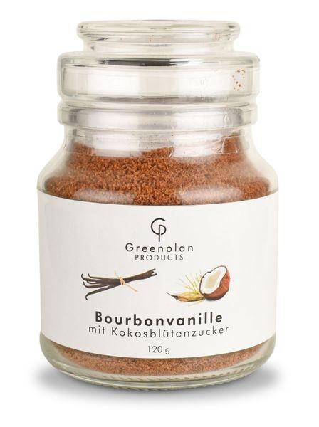 Vanillezucker Bourbon Madagaskar (Kokosblütenzucker)