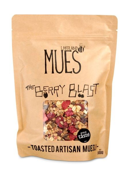 The Berry Blast - Toasted Artisan Muesli